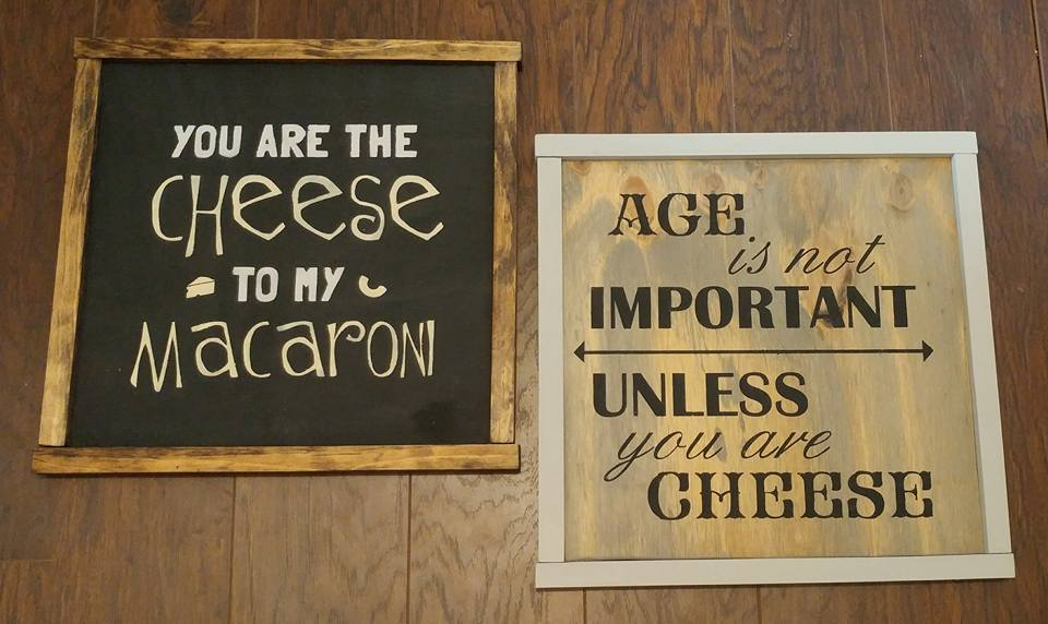 cheese signs